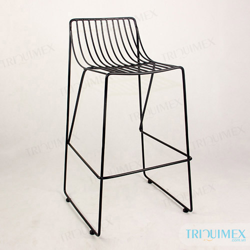 Beautiful Wrought Iron Bar Stool