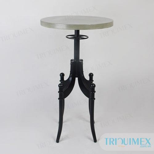 TR-090 concrete round table top
