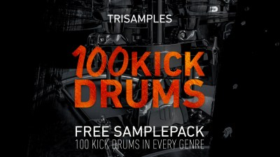 TriSamples - 100 Kick Drums Vol 1 Artwork