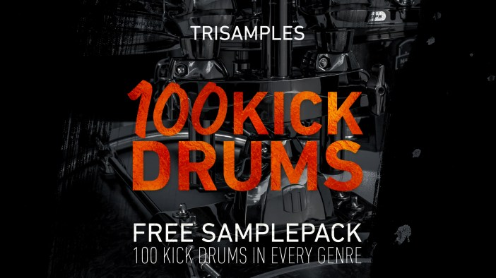 100 Kick Drum Samples Artwork