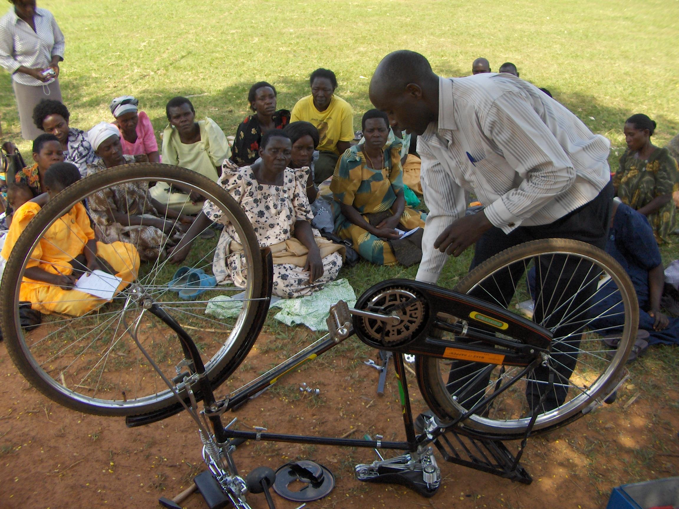 Bicycle Repair Training