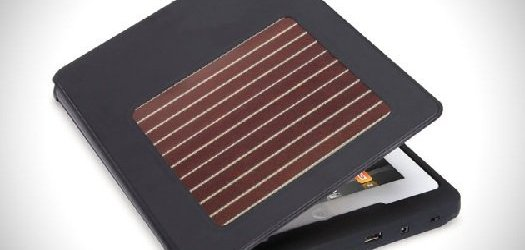 Charge Your iPad On The Go With A Solar-Powered Case