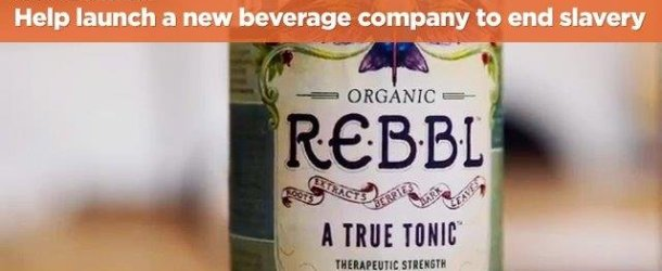 New Beverage Nonprofit, REBBL, Seeks to Fight Slavery