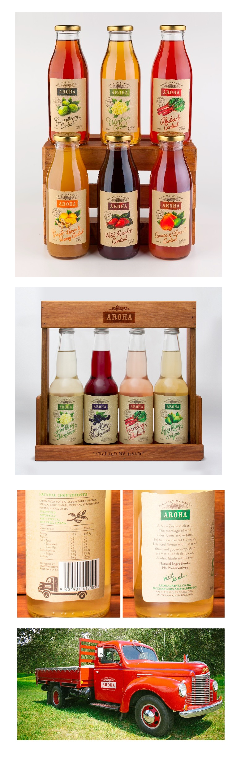 Packaging spotlight aroha juice redesign trendmonitor for Aroha new zealand cuisine