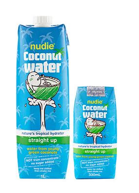 Drink spotlight nudie coconut water straight up for Straight up margarita