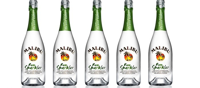 Drink Review: Malibu Rum Sparkler with Coconut Water
