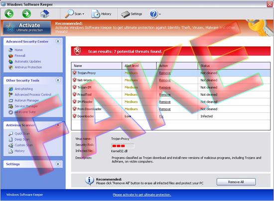 Windows Software Keeper