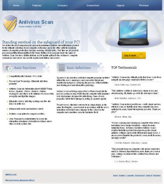 Antivirus Scan Hijacker