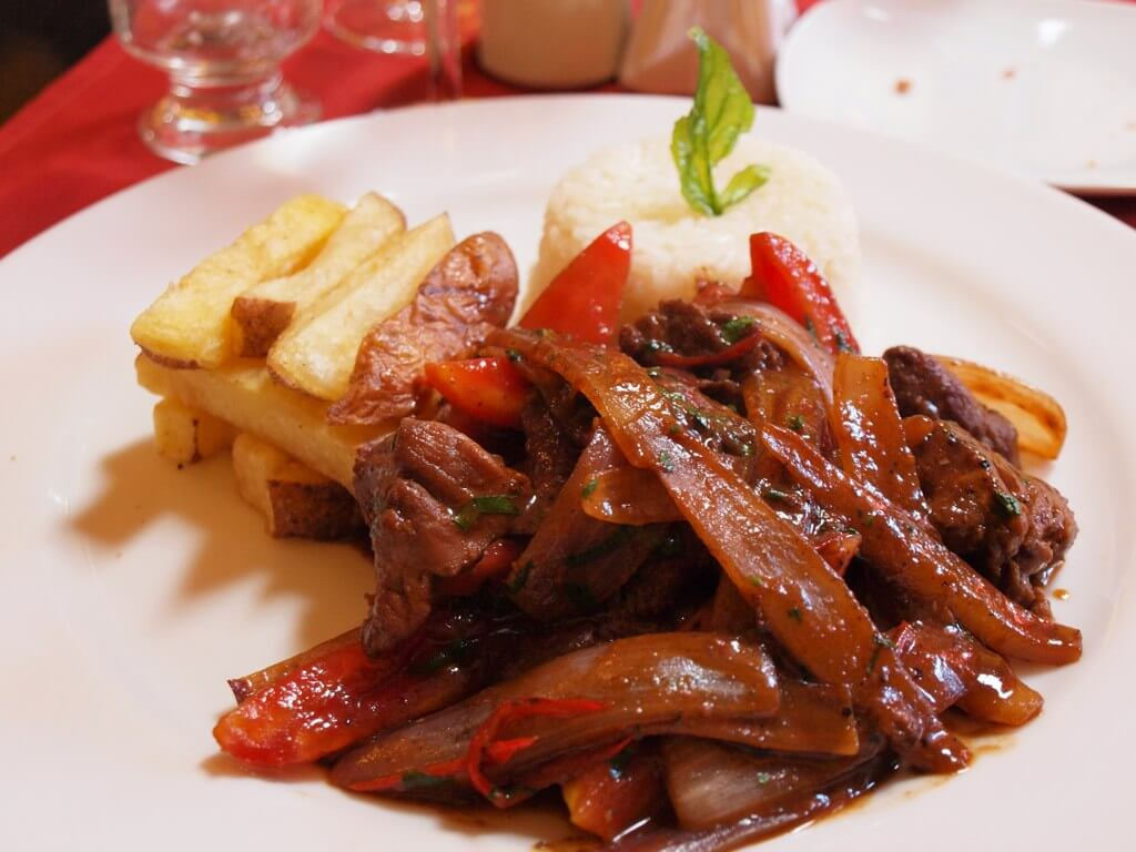 Lomo Saltado, recipes