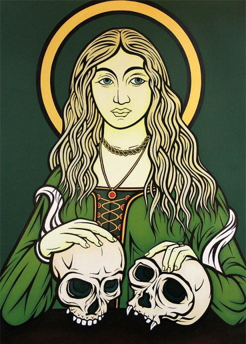 Madonna of Evolution (Simian Vanitas), 2013