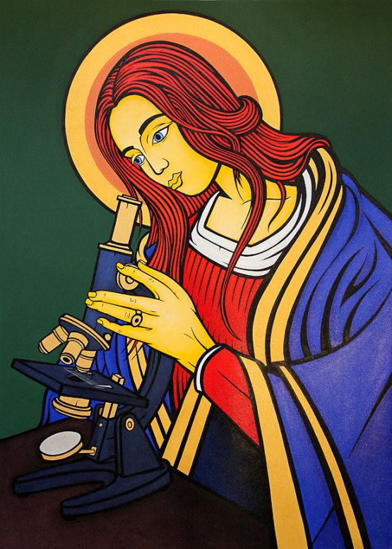 Madonna of the Microscope, 2013