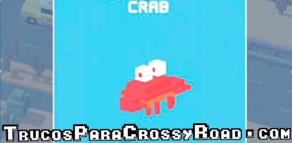 desbloquear a crab crossy road