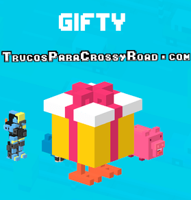 Desbloquear a Gifty Crossy Road