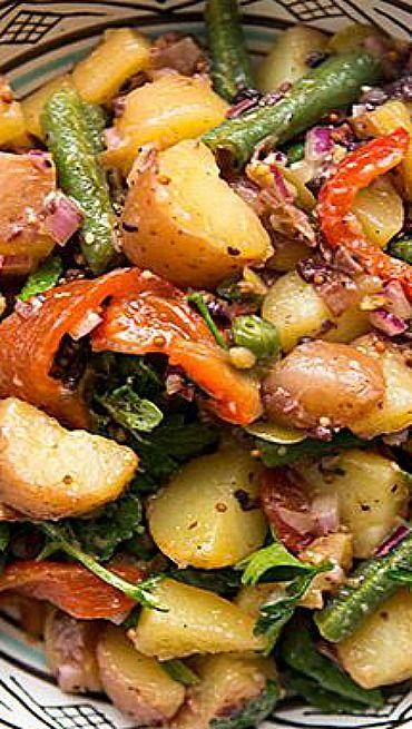 Healthy Mediterranean Potato Salad Recipe