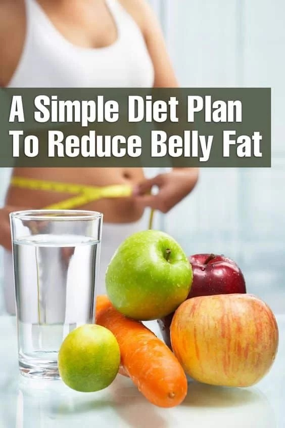 simple diet plan to reduce belly fat
