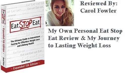 Eat Stop Eat Review and Journey to lasting weight loss