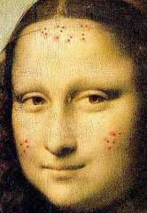 Mona Lisa with Acne