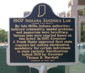 Indiana Eugenics Law 1907
