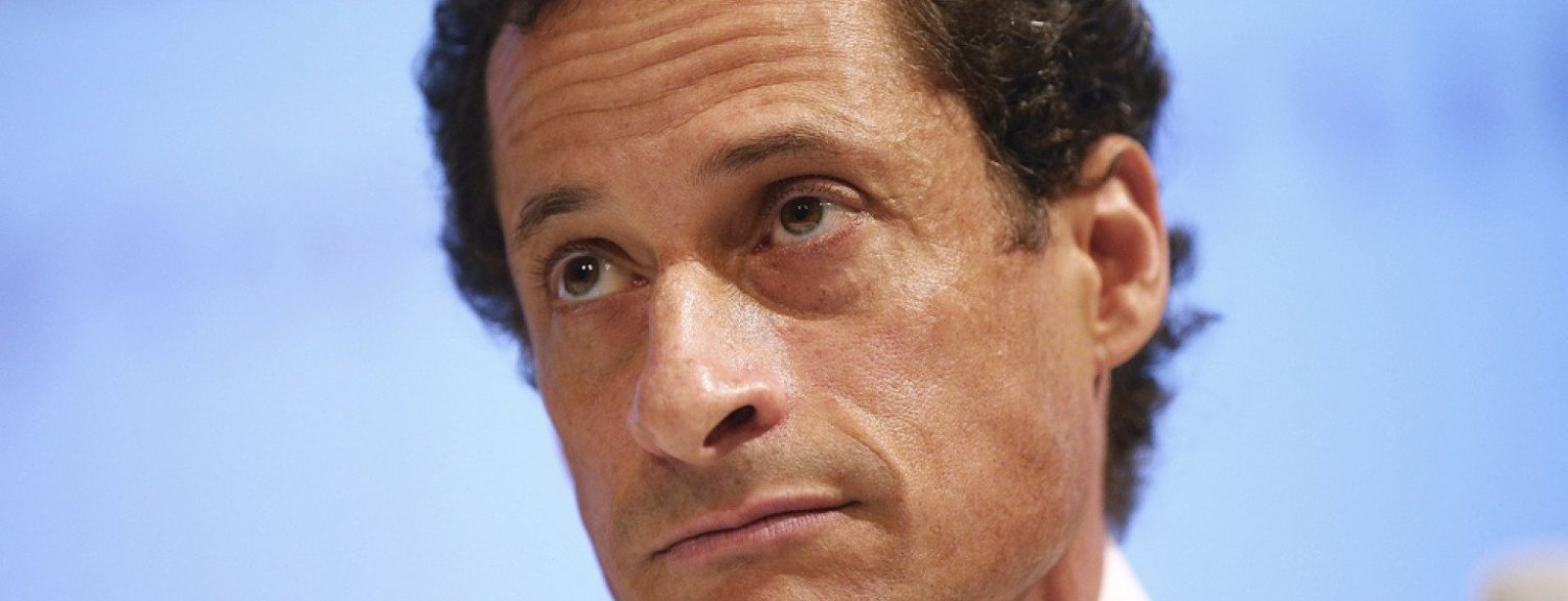 politics anthony weiner checks into addiction rehab center