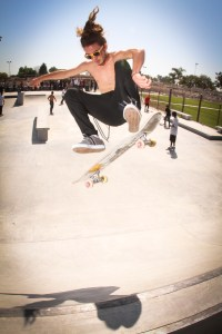 frontside flip by Javen