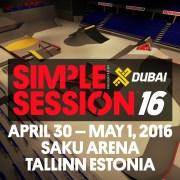 XDubai presents: Simple Session 16′