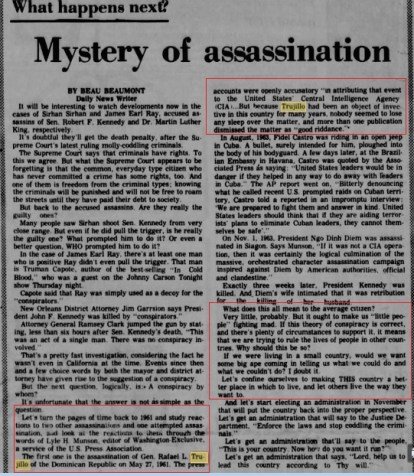 cia agent speaks of character assassination of trujillo paper article