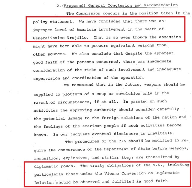 usa involvement violation of treaty congress says and recommends