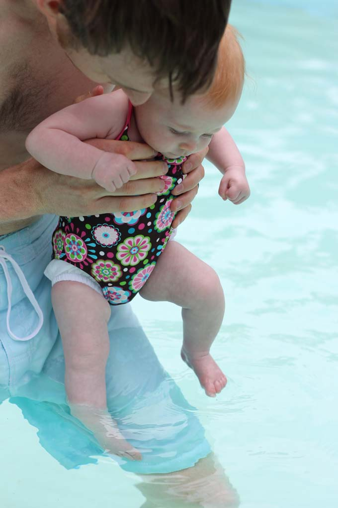Baby's First Swim