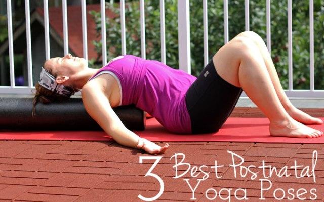 Three Postnatal Yoga Poses for New Moms