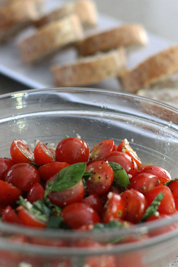 Bruschetta Tomato Topping