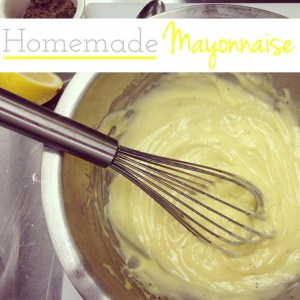 Classic Homemade Mayonnaise