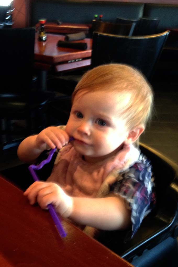 Stir Crazy is a great place to take baby on a lunch date.