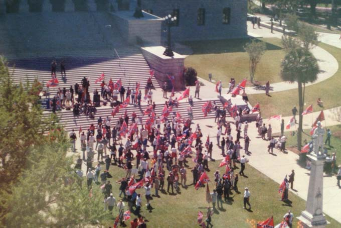 Confederate Flag Protests 2000