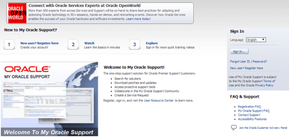 oracle_support