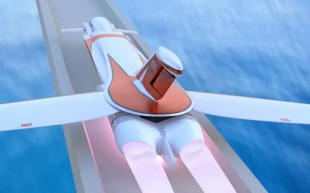 skreemr supersonique piste magnétique statoréacteur