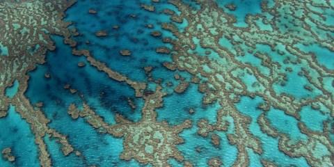 barrière de corail australie ciel photographie yann arthus bertrand home
