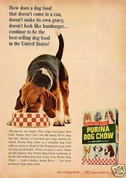 1960s Purina advertisement. Source: http://www.vintageadbrowser.com/animals-ads-1960s/7