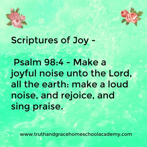 Medium Of Scriptures On Joy