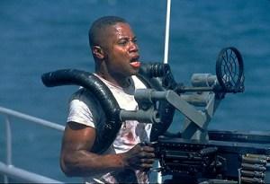 "Cuba Gooding Jr. as Doris ""Dorie"" Miller in the film ""Pearl Harbor."" (Photo: Touchstone Pictures)"