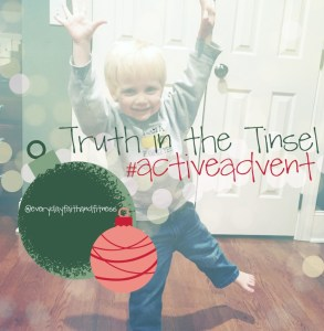 active advent truth tinsel