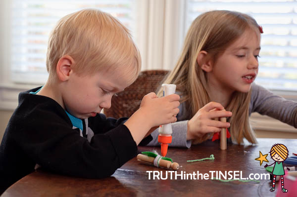 How To Do Truth in the Tinsel Even If You're Scared of Crafts