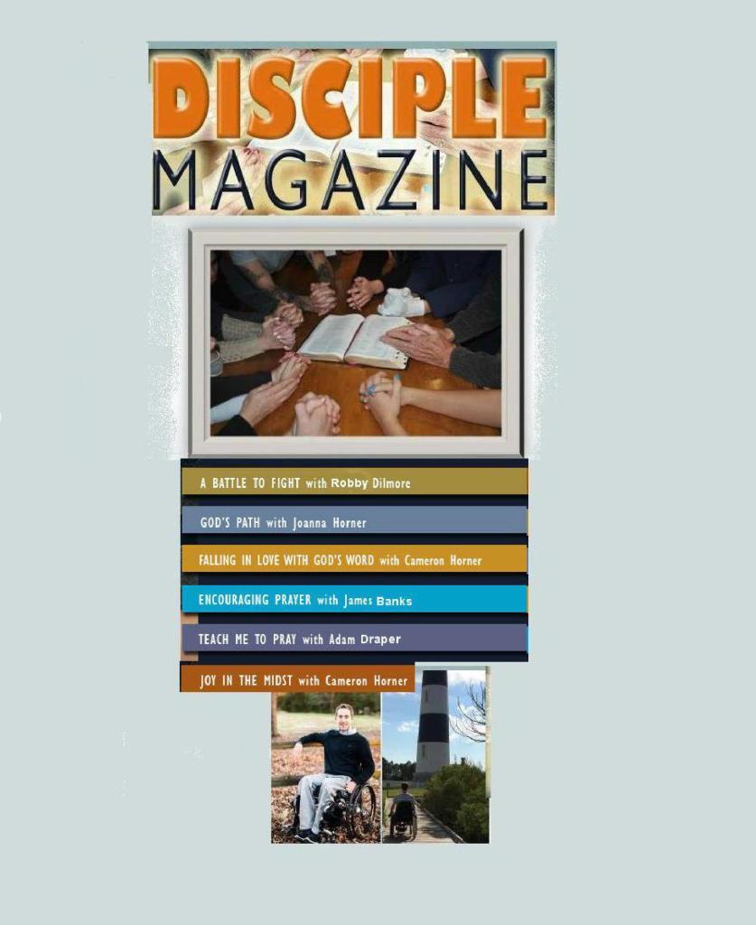 Disciple Magazine NRB