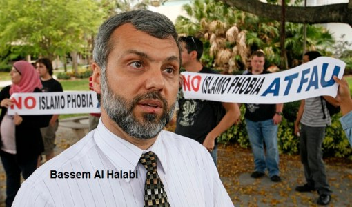 04/14/11 (Lannis Waters/The Palm Beach Post) BOCA RATON -- Florida Atlantic University Professor Bassem Al-Halabi, whom protesters claim has ties to terrorism, denies being a terrorist or believing in terrorism.