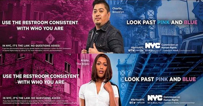 New York City Ad Campaign Supports Transgender Bathroom Rights