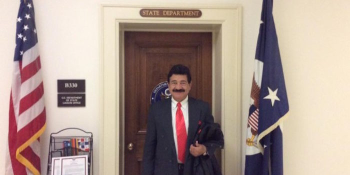 Picture Of Orlando Killers Dad Visiting Clinton's Office Surfaces