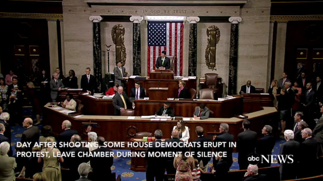 House Floor Erupts In Protest: Dems DEMAND Gun Control For Orlando Terrorist Attack (Video)