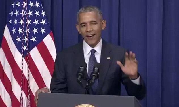 Grinning Obama JOKES During Statement On Munich Massacre (Video)