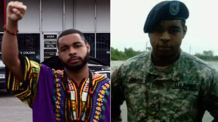 Dallas Shooting Suspect Identified As U.S. Army Veteran
