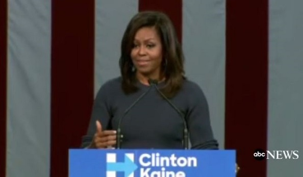 Michelle Obama: Donald Trump Is 'Disgraceful And Intolerable' (Video)