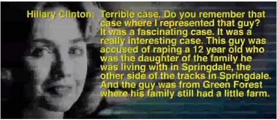 Hillary Clinton's Detailed Account Defending a Brutal Child Rapist, Laughs About the Plea Deal (Video)